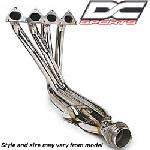 """4-1 BRUSHED STAINLESS STEEL RACE HEADER, ONE PIECE"", Acura, Integra Type-R, 96-97, 2.5"" Collector"