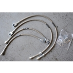 Stainless/Kevlar brake lines, Frontier